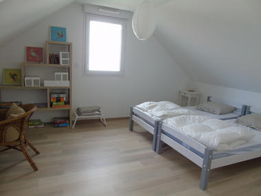 Chambre 2 lits - Dequeker - Saint-Malo copie