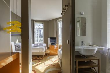 Chambre triple - Hôtel Aubade - Saint-Malo