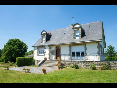 Chambres d'hôtes Mme Michel facade - Malestroit - Morbihan Bretagne