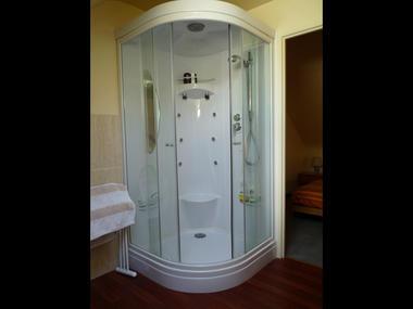 Chambres d'hôtes Métairie de la Béraudaie salle d'eau Baoziou - Bohal - Morbihan - Bretagne