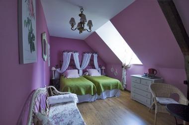 Chambres de charme le Moulin de la Béraudaie, chambre Morgane