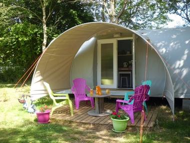 Coco sweet - Hébergements insolites - Camping des Cerisiers - Guillac - Morbihan - Bretagne