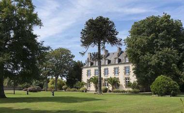 Côté parc sud - Malouinière de la Ville Gilles