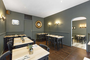 Deux Degrés Ouest - salle de restaurant Saint Malo