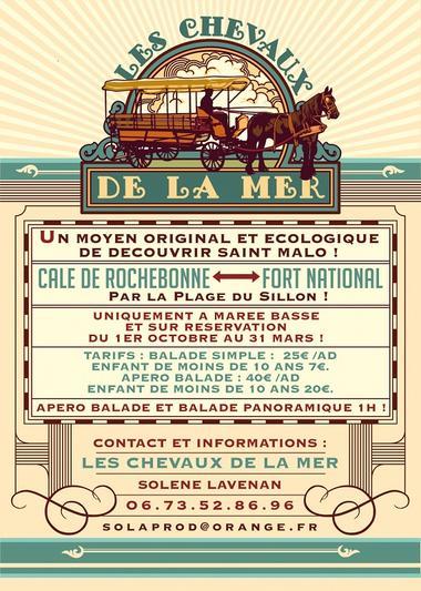 FLYER RECTO Les Chevaux de la Mer