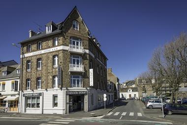 Façade - Hôtel Aubade - Saint-Malo