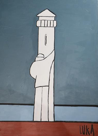 Galerie Atelier Luka - Port de la Houle - Cancale - Peintures