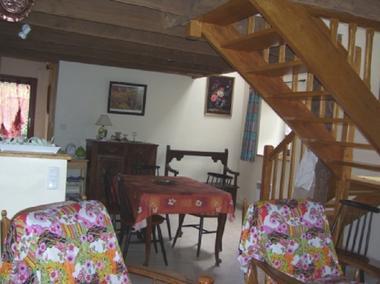 Gîte Guimard pièce à vivre - Pleucadeuc - Morbihan - Bretagne