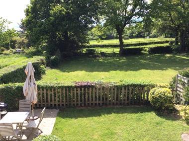 Gîte de la Doucette_Paimpont_vue du jardin