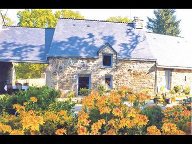 Gîte la maison de Jeanne jardin - St Guyomard - Morbihan - Bretagne