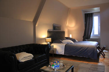Villa Fleurette, chambre Cézembre à Saint-Malo