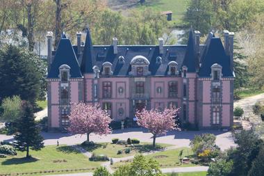 Château hôtel du Colombier à Saint-Malo