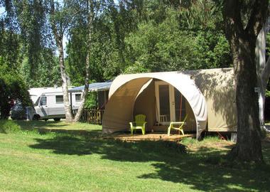 Camping des étangs à La Richardais