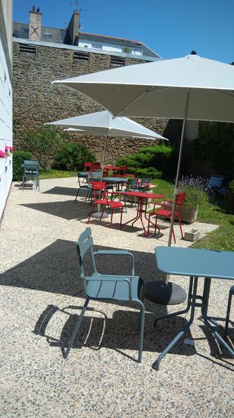 IBIS PLAGE - jardin terrasse4 - StMalo