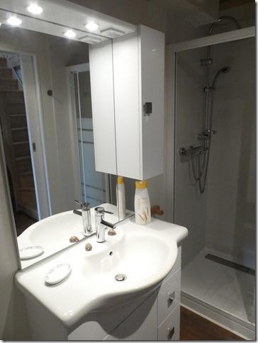 LE VIEUX VERGER - salle de bain - St Méloir