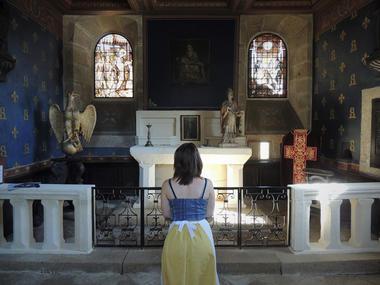 Chapelle du Rocher Portail