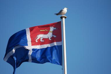 Le drapeau malouin -  Saint-Malo ©Saint-Malo Tourisme