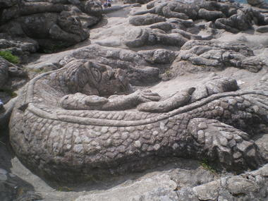 Les rochers sculptés – Saint-Malo - ©SMBMSM