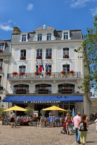Locations de salles - hôtel France et Chateaubriand - St Malo (2)