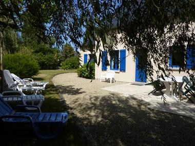 P et V Hervé - terrasse maison - cancale