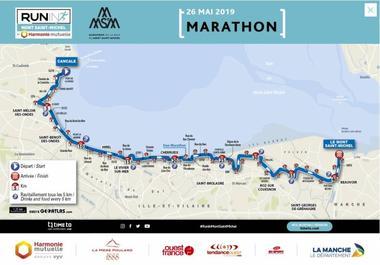 Parcours-marathon