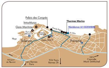 Plan - Le Guennec - Saint-Malo