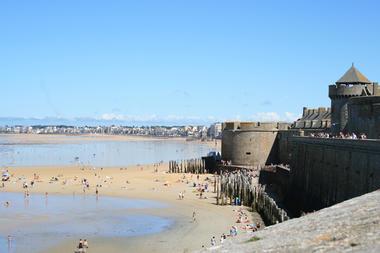 Plages intra muros - Le Guennec - Saint-Malo