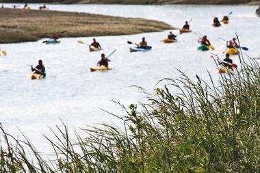 Rade de Brest côté sud en kayak
