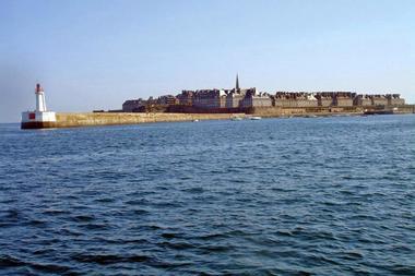 Rand'eau palmée à Saint-Malo