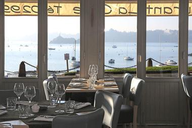 Salle - Restaurant La Cale de Solidor - Saint-Malo