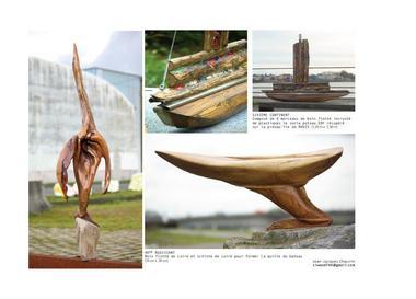 Sculpture Jean-Jacques Chauvin Iffendic