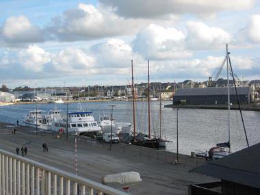 Vue du balcon - Hudin - Saint-Malo