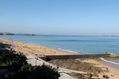 Vue plage - Rubin - Saint-Malo