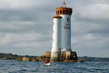 Visite du phare de la Croix