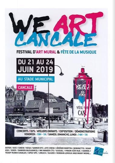 We Art Cancale 21-24juin19