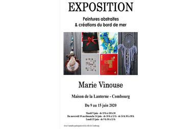 affiche expo Marie Vinouse