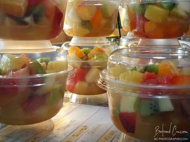 Le P'tit Bidon - salade de fruit - Ploërmel - Morbihan