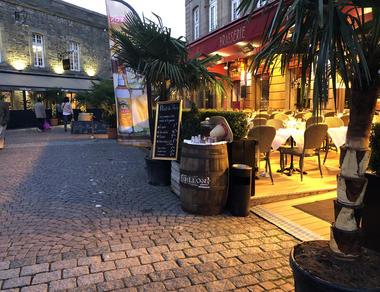 Restaurant - Le Café de Saint-Malo - Saint-Malo