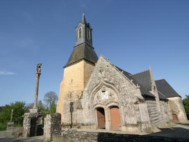 fête de la Saint Golven - Taupont - Vieux bourg - Morbihan