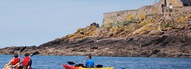 Balade Kayak 35 Dinard - Fort