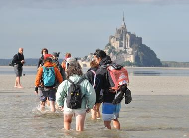 Escapades en Baie du Mont-Saint-Michel avec des guides nature
