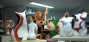 MYR dans son atelier MONTASTRUC-LA-CONSEILLERE