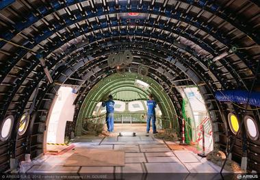 A350 XWB INTERIOR VIEW