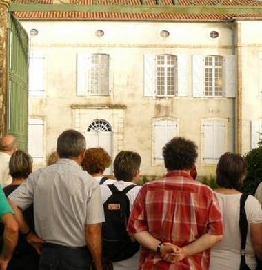 Balade patrimoine château de Castelnau Picampeau  credit David BOURDEAU « Tête en Ciel »