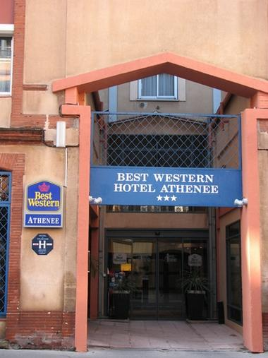 Best westerne athenee facade TOULOUSE