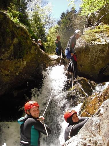 Canyoning Pyrenees Emotion MALVEZIE RN