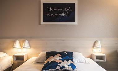 Chambre bleue 4