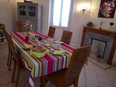 Chambre hôtes Toulaho petit déjeuner CAZERES
