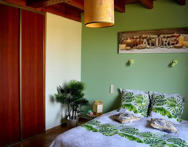 Chb hôtes La Cascadeta chambre verte MARIGNAC-LASCLARES