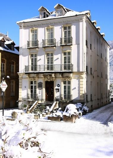 Exterieur neige Aquitaine LUCHON RN